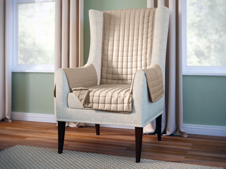 wayfair basics wayfair basics box cushion wingback slipcover
