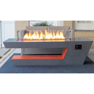 Resonate Concrete Propane/Natural Gas Fire Pit Table
