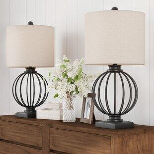 Farmhouse Table Lamps Free Shipping Over 35 Wayfair