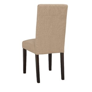 Lyon Parson Chair in Linen - Khaki (Set of 2) by Boraam Industries Inc
