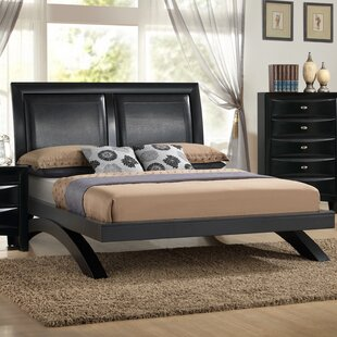 Plumwood Upholstered Platform Bed