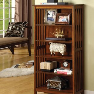 Rodin Media Shelf Standard Bookcase by Millwood Pines
