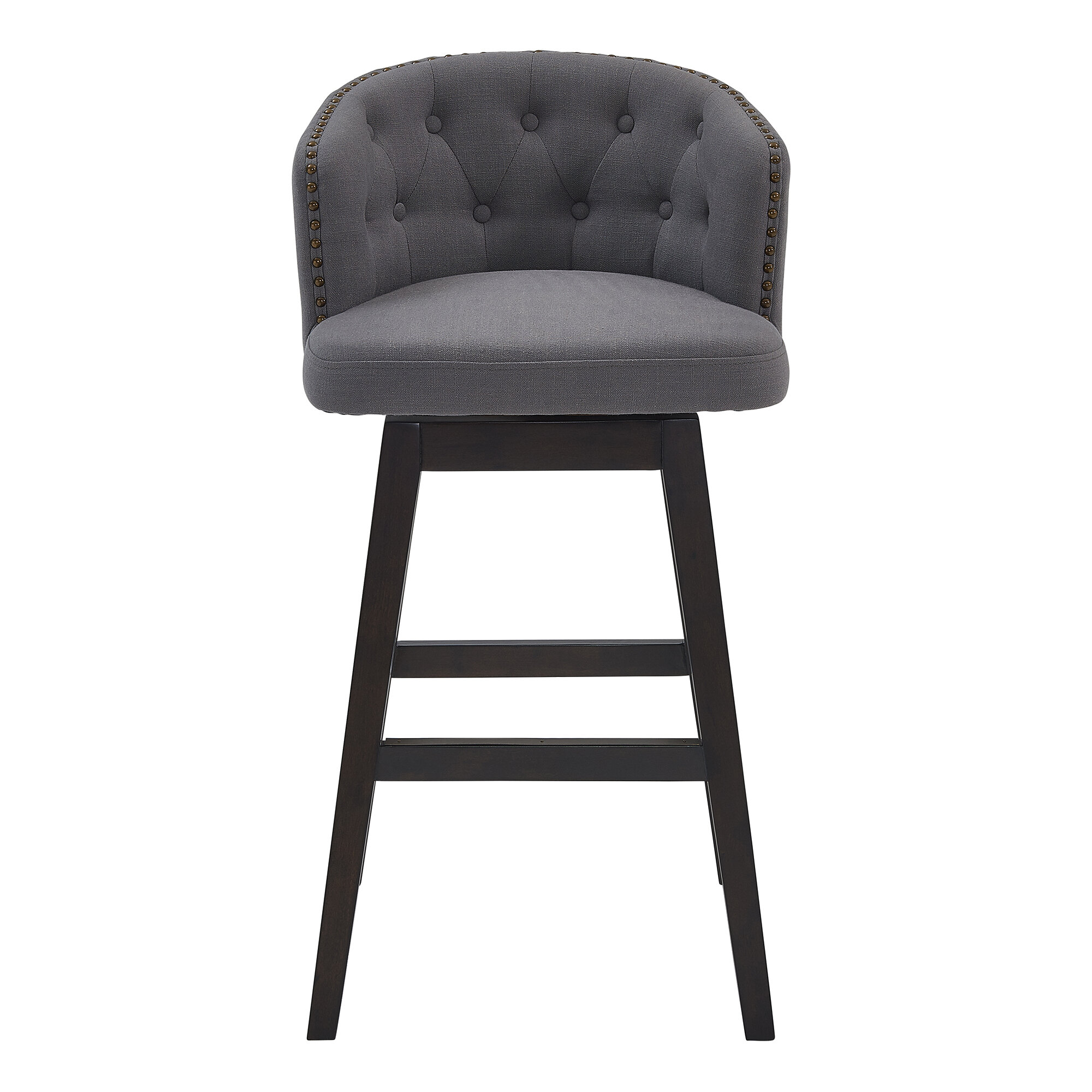 Darby Home Co Micky Bar Counter Swivel Stool Reviews Wayfair