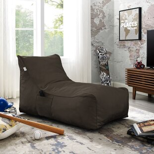 Resty Nylon Bean Bag Lounger by Inspired Home Co.