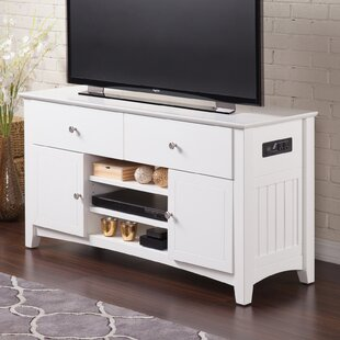 Compare prices Herring TV Stand for TVs up to 50 by Breakwater Bay Reviews (2019) & Buyer's Guide