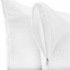 Premium Hypoallergenic 100% Waterproof Terry Cotton Pillow Protector by Alwyn Home