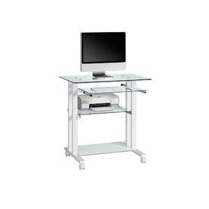 computertisch office mit tastaturauszug - Computertische Fr Zuhause