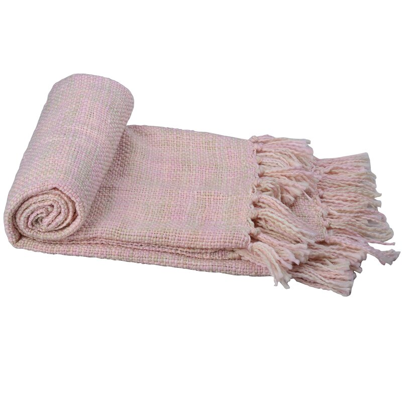 pink Coughlin Throw blanket