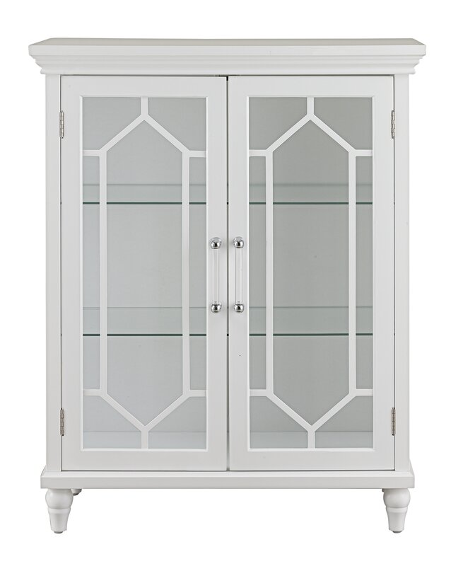 Toulouse 2 Door Accent Cabinet by Elegant Home Fashions
