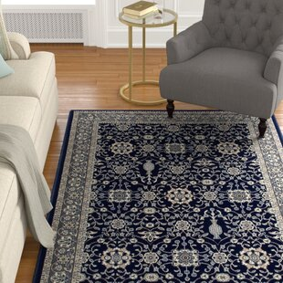 Order Lang Machine Woven Navy Area Rug By Astoria Grand