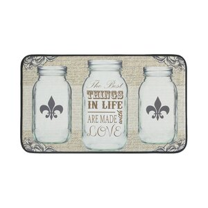 All Things in Life Anti-Fatigue Kitchen Mat