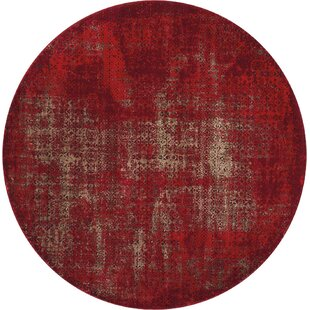 Duncanville Red Area Rug by Greyleigh