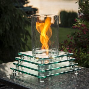 Exceptional Harmony Gel Fuel Tabletop Fireplace