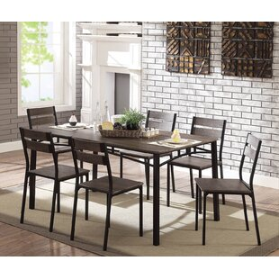 Autberry 7 Piece Dining Set Gracie Oaks