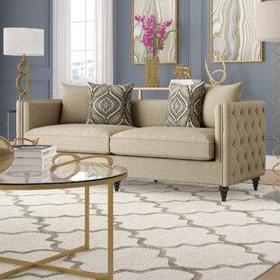Dolson Chesterfield Sofa by Willa Arlo Interiors