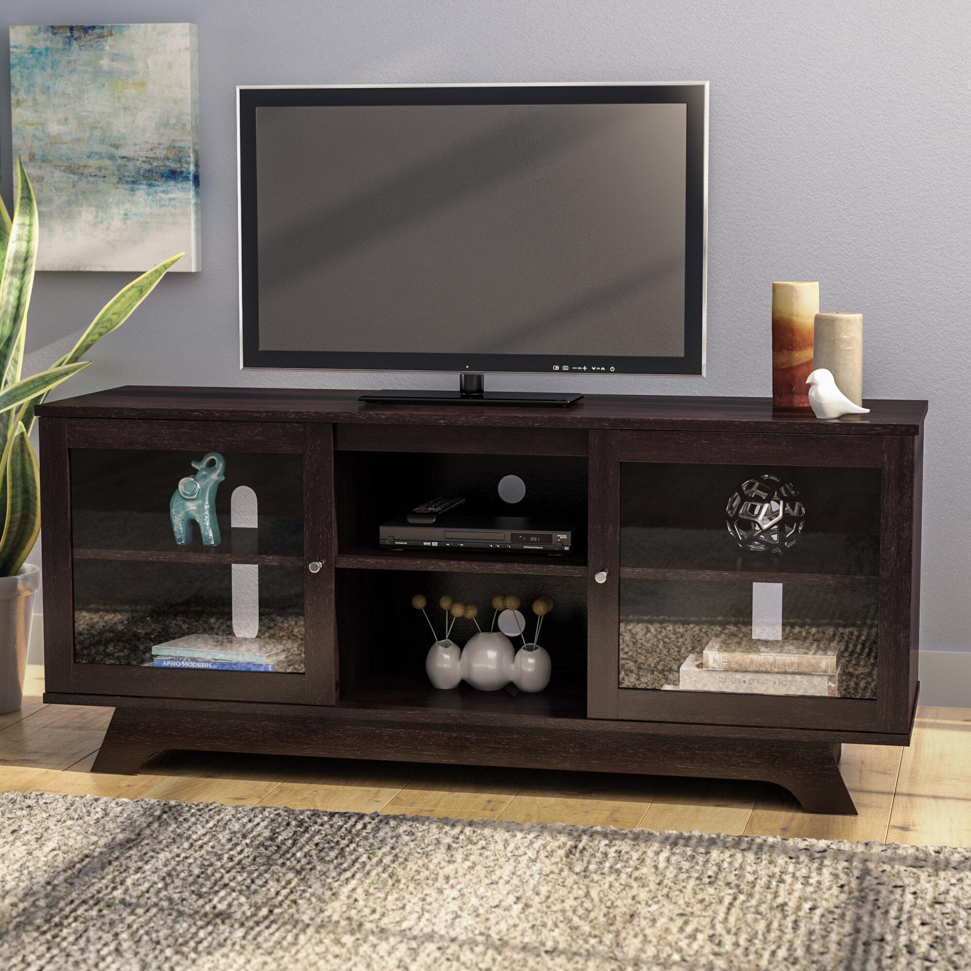 "Latitude Run® Lisinski TV Stand for TVs up to 55"" & Reviews   Wayfair"
