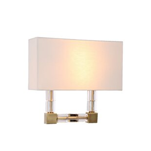 Top Reviews Crescentia 2-Light Flush Mount By Everly Quinn
