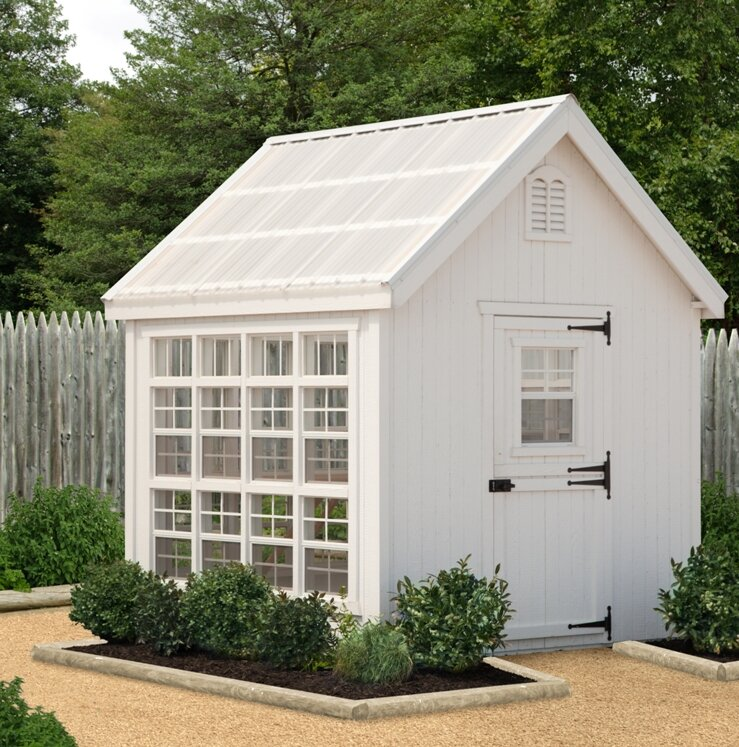 Colonial Gable 8 Ft. W x 16 Ft. D Greenhouse