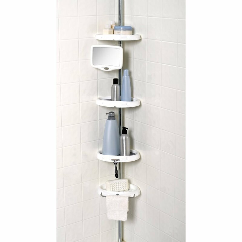 Zenith Corner Shower Caddy & Reviews | Wayfair