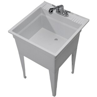 cabinet stainless home high in storage p and utility depot sink one bay all with x steel gloss faucet glacier the laminate sinks laundry pvc