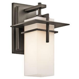Best Price Sulphur 1-Light Outdoor Sconce By Loon Peak