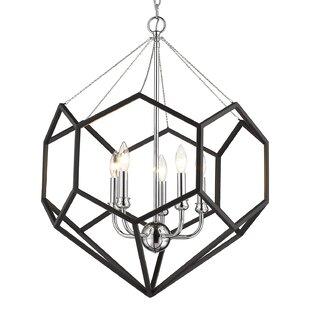 Edna 5-Light Geometric Chandelier