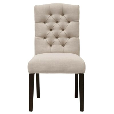Mcfadden Wooden Framed Upholstered Dining Chair Canora Grey