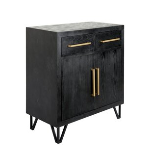 Dowlen Spacious Wooden Rectangular 2 Door Accent Cabinet by Ivy Bronx