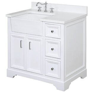 Reviews Zelda 36 Single Bathroom Vanity Set ByKitchen Bath Collection