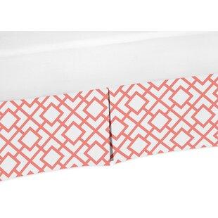 Inexpensive Mod Diamond Crib Skirt BySweet Jojo Designs