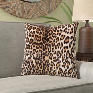 Ramires Cheetah Print Throw Pillow
