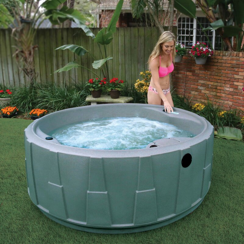 Amazing AquaRest Spas Select 200 5 Person 20 Stainless Jets And LED Waterfall Hot  Tub Spa