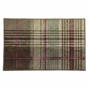 Polson Plaid Bath Rug