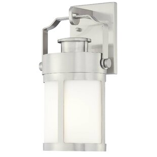 Inexpensive Vista Delmar 1-Light Outdoor Wall Lantern By Great Outdoors by Minka