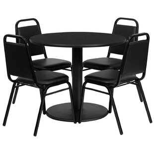 Jazmin 5 Piece Dining Set by Ebern Designs New