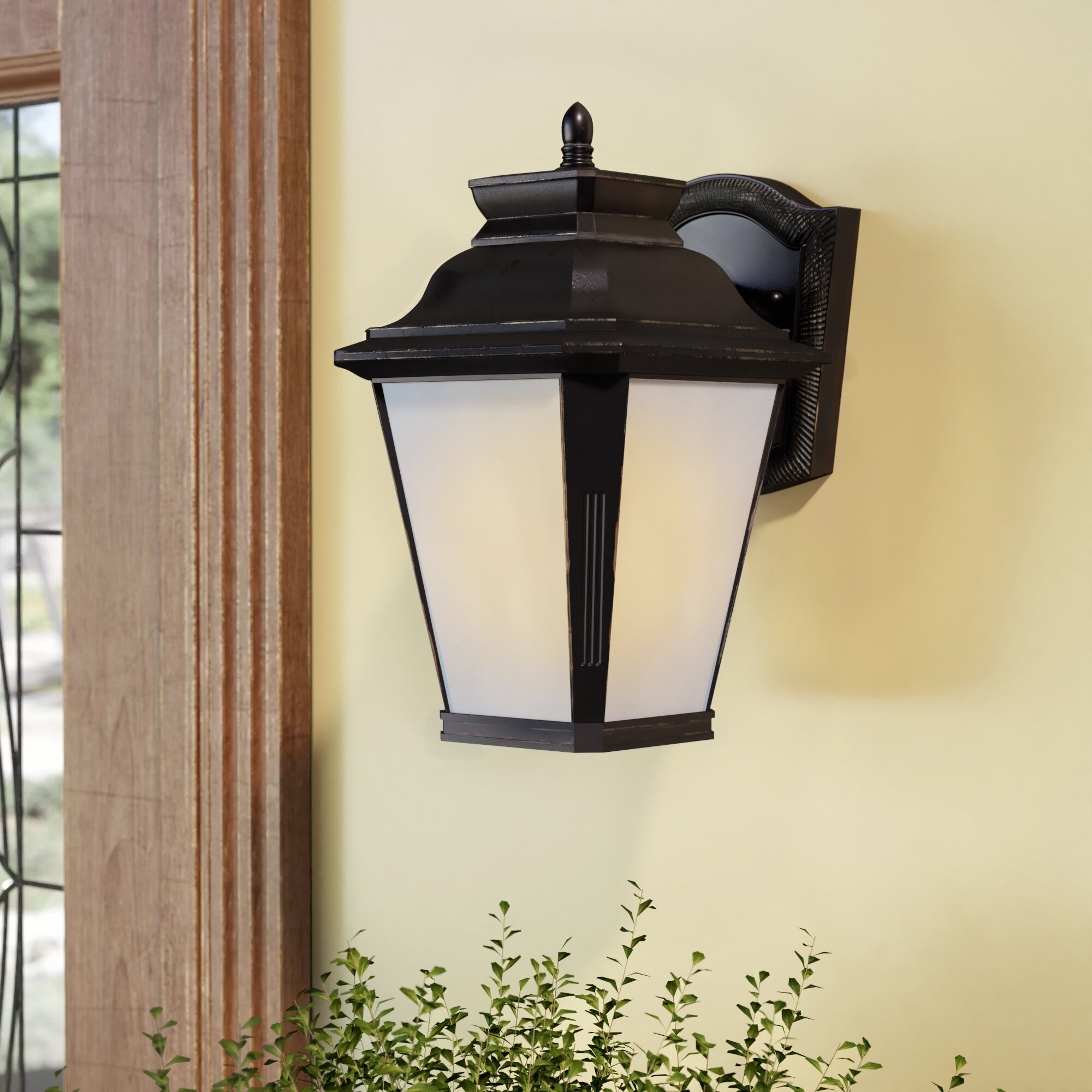 Sol 72 Outdoor Monette Outdoor Wall Lantern Wayfair