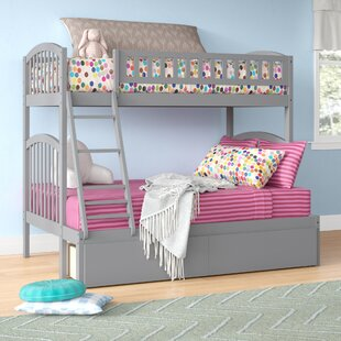 Jackie Twin over Full Bunk Bed with Drawers