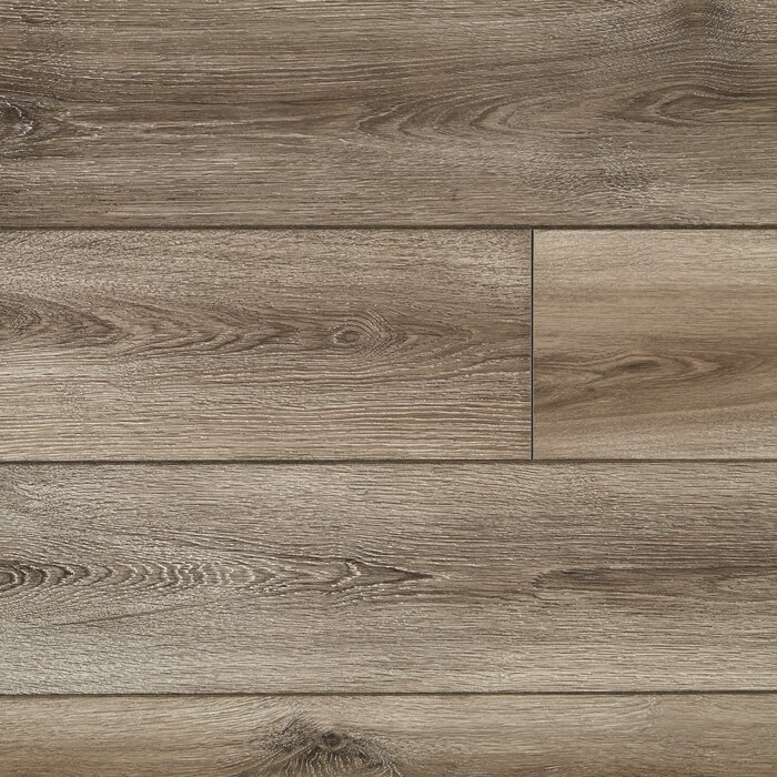 Restoration Collection 8 X 51 12mm Laminate Flooring In Brushed Gray