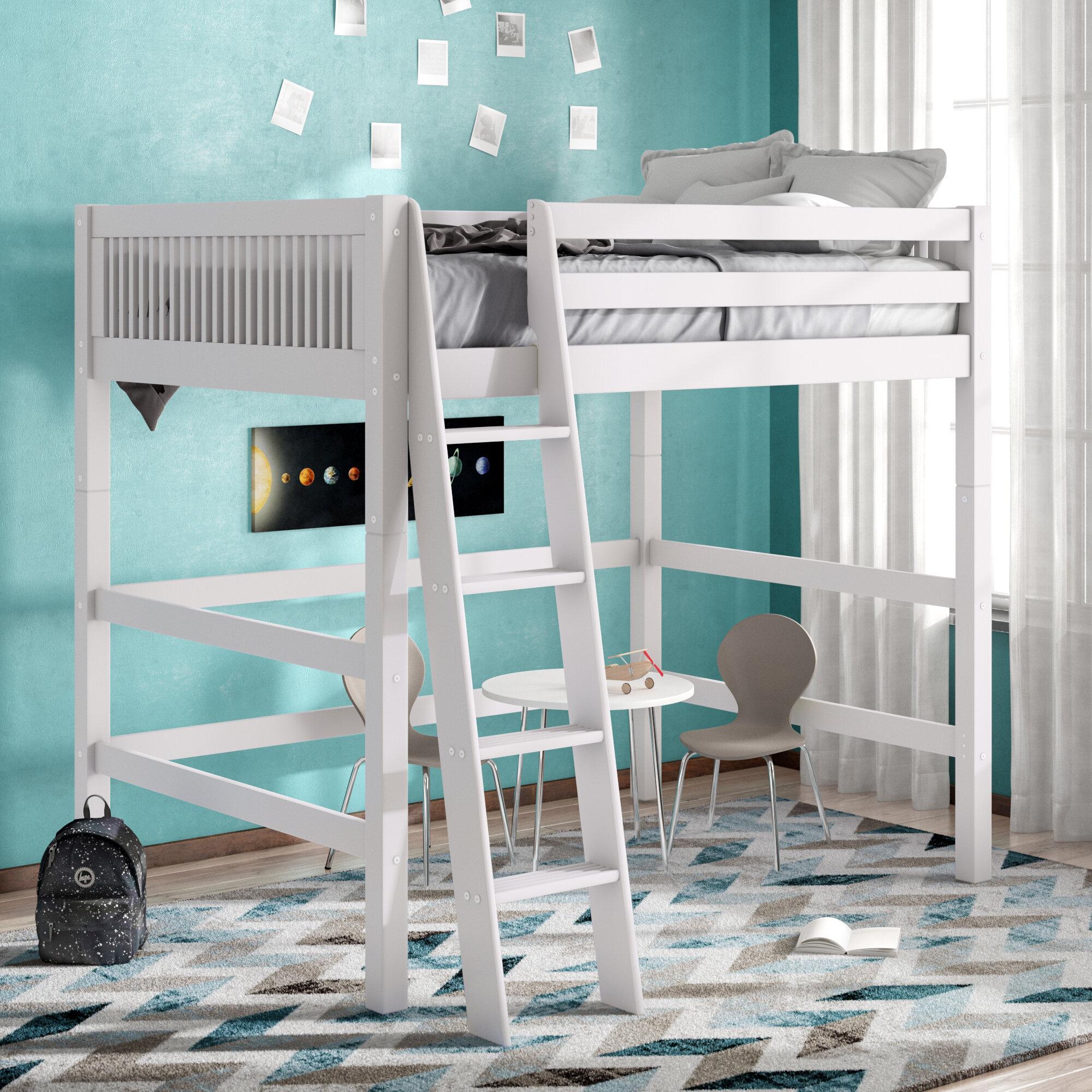 Viv + Rae Isabelle Full Loft Bed & Reviews   Wayfair