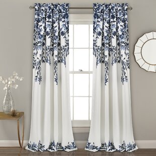 Saffr Walden Room Darkening Thermal Rod Pocket Curtain Panel Pair (Set of 2) by Darby Home Co