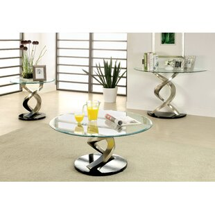 Farren 3 Piece Coffee Table Set