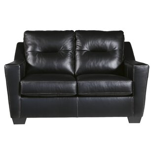 Cabrini Leather Standard Loveseat