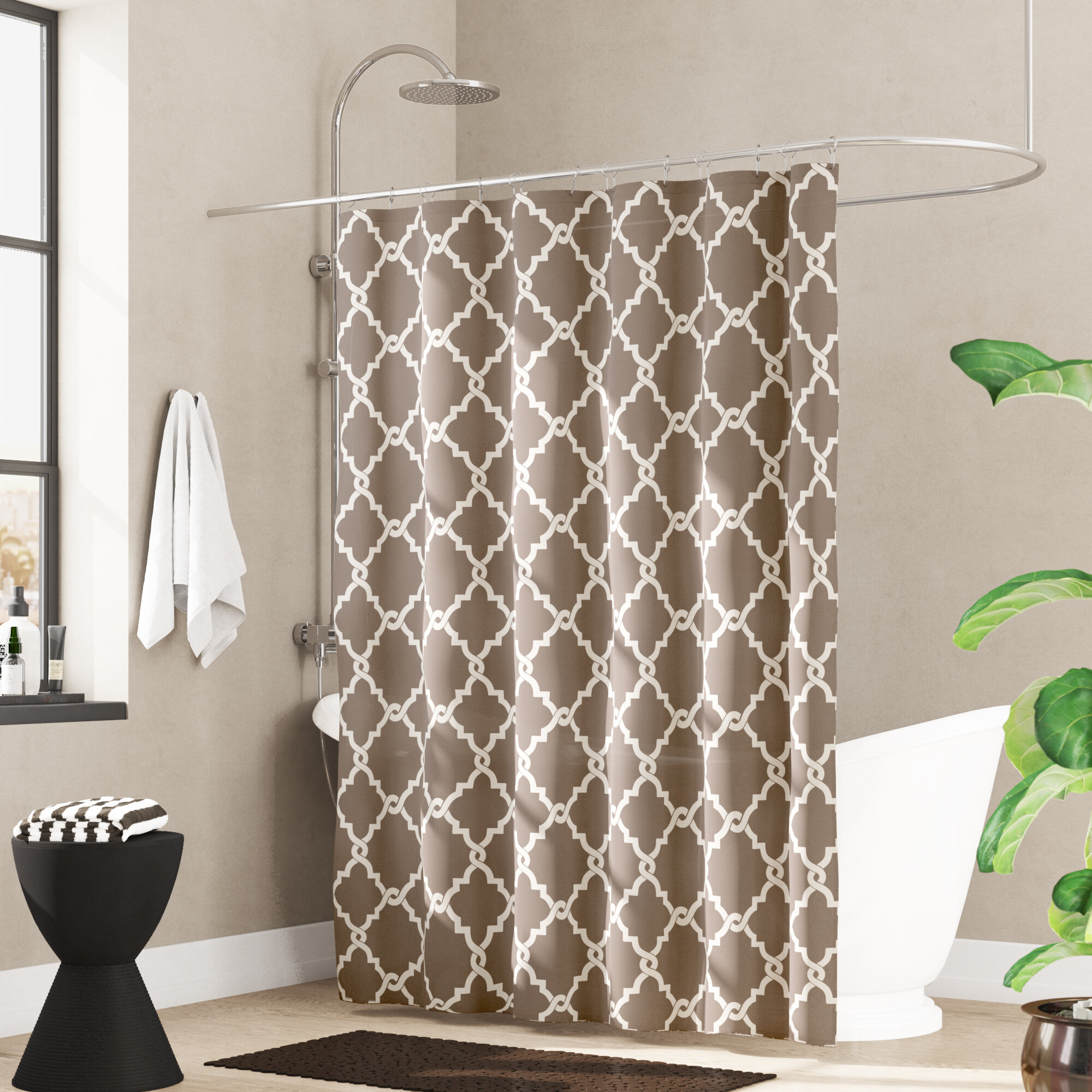 Thea Single Shower Curtain Reviews