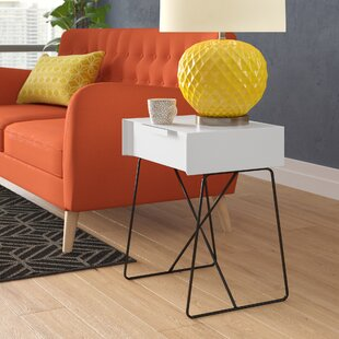 Bogan End Table by Wrought Studio