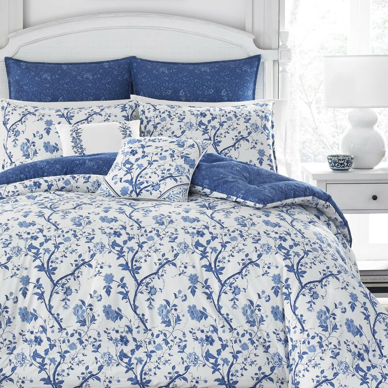 Elise 100% Cotton Comforter Set by Laura Ashley Ho