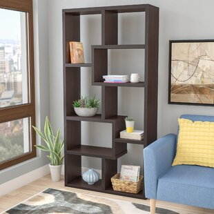 Ansley Geometric Bookcase by Brayden Studio Find