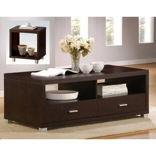 Smith 2 Piece Coffee Table Set