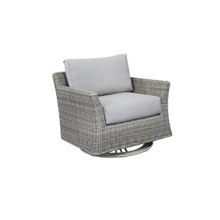 Norman Club Rocker Swivel Patio Chair with Cushions