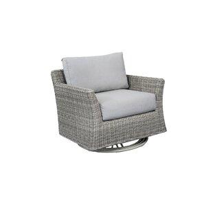 Norman Club Rocker Swivel Patio Chair With Cushions