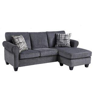 Chesterfeld 86 Sofa  Chaise by Red Barrel Studio